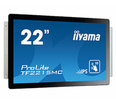 "22"" IIYAMA ProLite TF2215MC-B2 / 1920 x 1080 / 1000:1 / 315cd-m2 / 14ms / VGA+HDMI+DP"