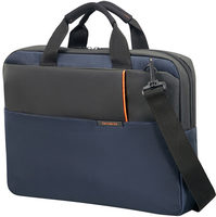 "Samsonite QIBYTE LAPTOP BAG 14.1"" modrá / Taška na notebook"