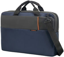"Samsonite QIBYTE LAPTOP BAG 15.6"" modrá / Taška na notebook"