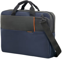 "Samsonite QIBYTE LAPTOP BAG 17.3"" modrá / Taška na notebook"
