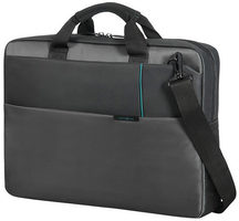 "Samsonite QIBYTE LAPTOP BAG 17.3"" šedá / Taška na notebook"