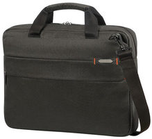 "Samsonite Network 3 LAPTOP BAG 15.6"" Charcoal Black / Taška na notebook"