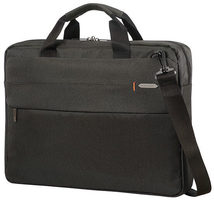 "Samsonite Network 3 LAPTOP BAG 17.3"" Charcoal Black / Taška na notebook"