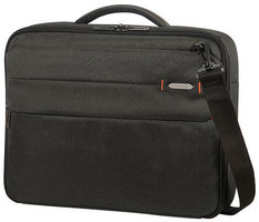 "Samsonite Network 3 OFFICE CASE 15.6"" Charcoal Black / Taška na notebook"