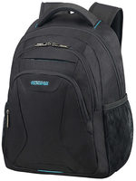 "American Tourister AT WORK LAPTOP BACKPACK 13.3""-14.1"" Black / Batoh na notebook"
