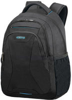 "American Tourister AT WORK LAPTOP BACKPACK 15.6"" Black / Batoh na notebook"