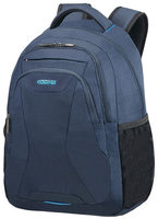 "American Tourister AT WORK LAPTOP BACKPACK 15.6"" Midnight Navy / Batoh na notebook"