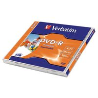 Verbatim DVD-R 4.7GB 1ks / 16x / printable / jewel