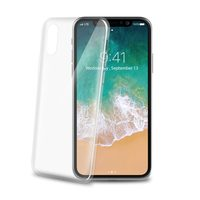 CELLY Ultrathin TPU pouzdro pro Apple iPhone X bílá