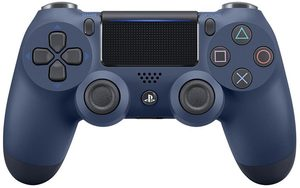 Dualshock 4 V.2 Controller Midnight Blue (SONY PlayStation 4) / modrá