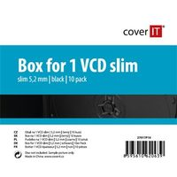 COVER IT 1 VCD 5.2mm slim černý 10ks