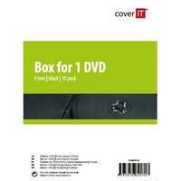 COVER IT 1 DVD 9mm slim černý 10ks