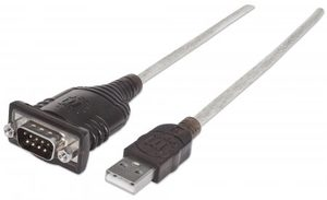 Manhattan USB 2.0 na RS232/COM/DB9
