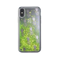 Cellularline Stardust Gelové pouzdro pro Apple iPhone X motiv Pineapple
