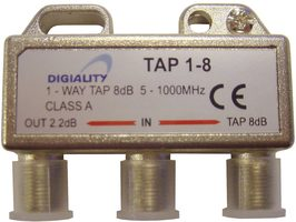 Digiality Antenna 1-Way Tap 8 dB split