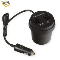 WE auto adaptér CUP 2+ 2x USB / 2xCS 5V 9.6A