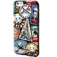 Karl Lagerfeld TPU Pouzdro Around The World Paris pro Apple iPhone 6 & 6S motiv