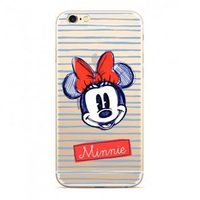 Disney Minnie 011 Back Cover pro Huawei Y6 Prime 2018 transparentní