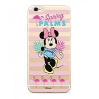 Disney Minnie 028 Back Cover pro Apple iPhone XS transparentní / výprodej