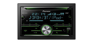 Pioneer FH-X840DAB / 2DIN / autorádio / CD / USB / Bluetooth