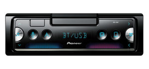 Pioneer SPH-10BT / 1DIN / autorádio / USB / Bluetooth