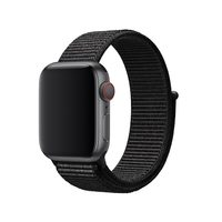 Apple Watch Sport Loop 40 černá / řemínek pro Apple Watch / 130-190mm / Nylon
