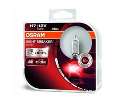OSRAM H7 NIGHT BREAKER SILVER 12V 55W PX26d Duo-Box / autožárovka