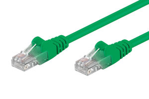 Goobay Patch kabel 5m zelená / Cat6A / SFTP