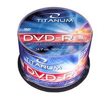 Titanum 1069 DVD-R / 4.7 GB / 8x / 50ks cake box