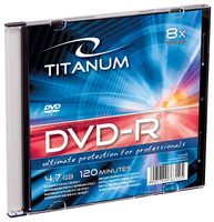 Titanum 1073 DVD-R / 4.7 GB / 8x / 200ks slim jewel case