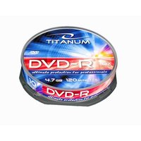 Titanum 1281 DVD-R / 4.7 GB / 16x / 10ks cake box