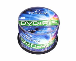 Titanum 1286 DVD+R / 4.7 GB / 16x / 50ks cake box