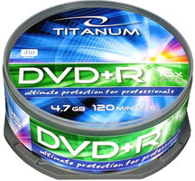Titanum 1287 DVD+R / 4.7 GB / 16x / 25ks cake box