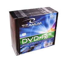 Titanum 1291 DVD+R / 4.7 GB / 16x / 10ks slim jewel case