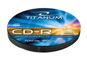 Titanum 2023 CD-R / 700MB / 52x / 10ks soft pack