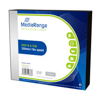 MediaRange MR418 DVD-R / 4.7 GB / 16x / 5ks slim case