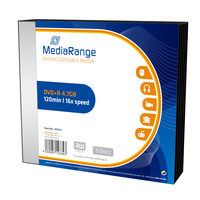 MediaRange MR419 DVD+R / 4.7 GB / 16x / 5ks slim case
