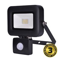Solight WM-10WS-L LED reflektor PRO se senzorem 10W / 850lm / 5000K / IP44