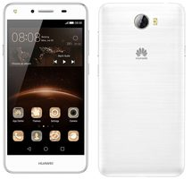 "Huawei Y5 II Dual SIM White / CZ distribuce / 5.0"" / QC 1.3GHz / 1GB RAM / 8GB / 8MP + 2MP / Android 5.1 / bílý"