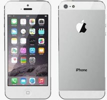 Bazar - Apple iPhone 5 - 16GB refurbished / iOS7.0 / bílý / EU
