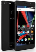 "ARCHOS Diamond Selfie / 5.5"" / Qualcomm OC 1.4GHz  / 4GB / 64GB / Android 6.0 / Dual-SIM / černá"