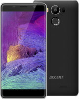 "Accent NEON LTE černá / 5"" HD IPS / Quad-Core 1.3GHz / 2GB RAM / 16GB / 16MPx / WiFi / BT / GPS /  Android 6.0"
