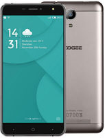 "DOOGEE X7 16GB zlatá / 6"" /  Q-C 1.3GHz / 1GB / 16GB / Dual-SIM / 13MP+8MP / Android 6.0"
