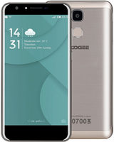 "DOOGEE Y6 16GB LTE zlatá / 5.5"" /  O-C 1.5GHz / 2GB / 16GB / 13MP+8MP / Android 6.0"
