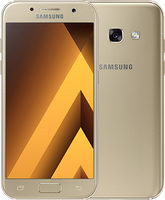 "SAMSUNG Galaxy A3 (2017) SM-A320 16GB zlatá / CZ distribuce / 4.7"" /  O-C 1.6GHz / 2GB / 16GB / 13MP+8MP / Android 6.0"