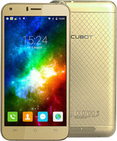 "CUBOT Manito 16GB zlatá / 5"" / Q-C 1.3GHz / 3GB / 16GB / 13MP+5MP / LTE / Android 6.0"