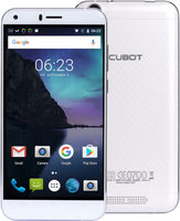 "CUBOT Manito 16GB bílá / 5"" / Q-C 1.3GHz / 3GB / 16GB / 13MP+5MP / LTE / Android 6.0"