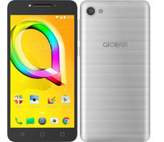 "Alcatel A5 LED 5085D Metallic Silver / 5.2"" / OC 1.5GHz / 2GB RAM / 16GB ROM / 8MP+5MP / Android 6.0"