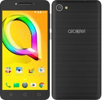 "Alcatel A5 LED 5085D Metallic Black / 5.2"" / OC 1.5GHz / 2GB RAM / 16GB ROM / 8MP+5MP / Android 6.0"