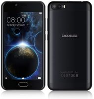 "DOOGEE SHOOT 2 16GB černá / 5"" /  Q-C 1.3GHz / 2GB / 16GB / 5MP+5MP+2MP / Android 7.0"